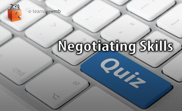 Negotiating Skills Quiz e-Learning